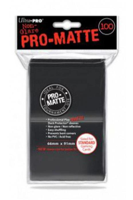 Ultra Pro | Pro Matte Black Sleeves - Stuffbringer