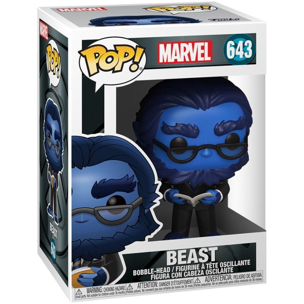 Vorbestellung | Marvel: X-Men 20th - Beast Funko Pop Vinyl Figur - Stuffbringer