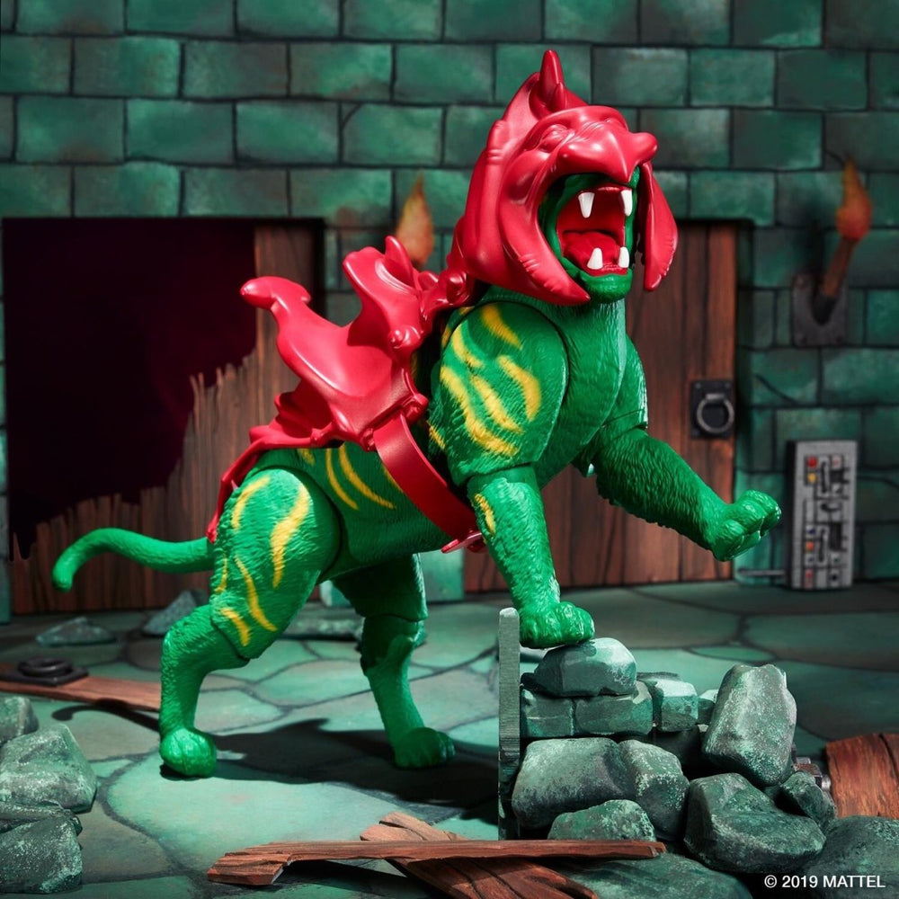 Vorbestellung | Masters of the Universe - Battle Cat Actionfigur - Stuffbringer