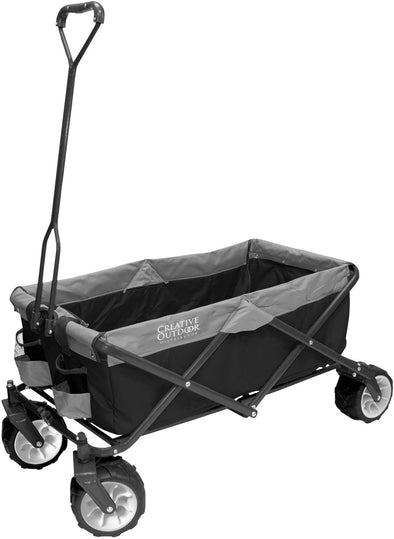 All-Terrain Collapsible Folding Wagon | Black/Gray