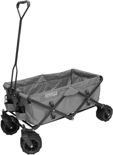 All-Terrain Folding Wagon | Gray