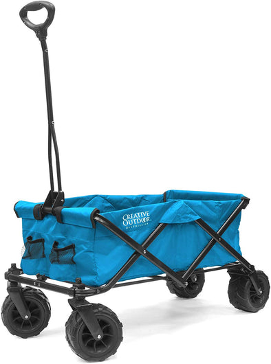 All-Terrain Collapsible Folding Wagon | Blue