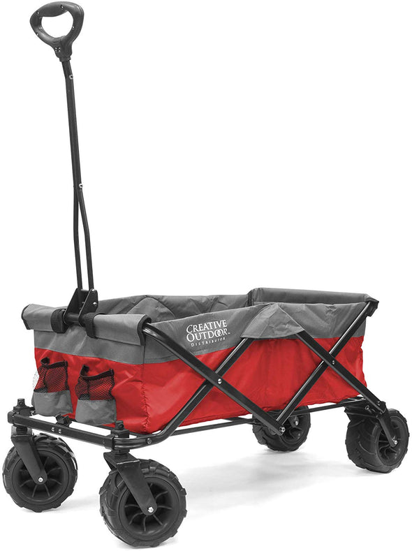 All-Terrain Collapsible Folding Wagon | Red