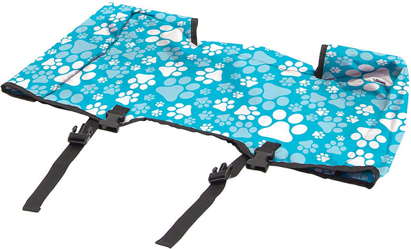 All-Terrain Folding Wagon, Print, Blue Paw