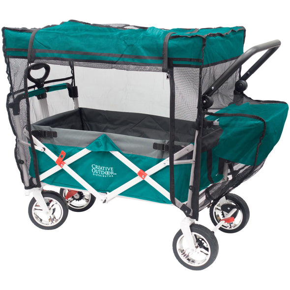 Push Pull Folding Wagon Insect Mosquito Bug Net Accessory