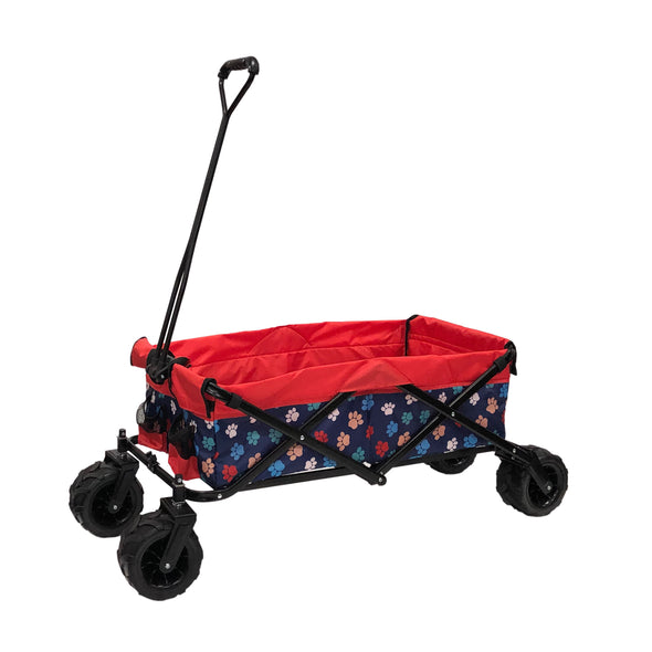 All-Terrain Collapsible Folding Wagon | Red Paw