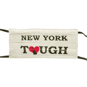 New York Tough - Hand Made Cotton Face Mask with Pockets