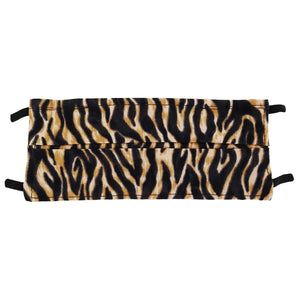 Tiger Animal Print - Hand Made Cotton Face Mask with Pockets