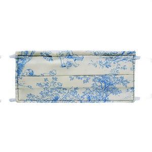 Toile Print - Hand Made Face Mask