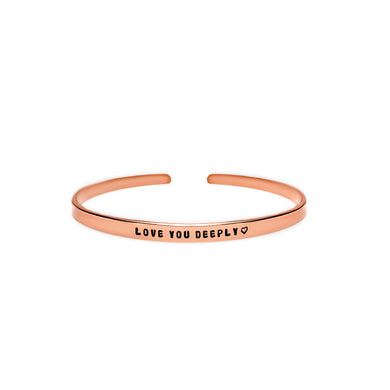 Love You Deeply Cuff Bracelet