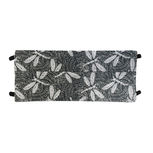 Gray Dragonfly Print - Hand Made Cotton Face Mask