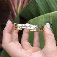 RBG Collection Cuff Bracelets