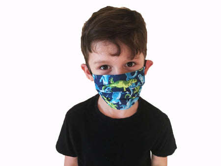 Reptiles Print - Hand Made Face Mask