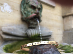 Adventure is Out There Cuff Bracelet