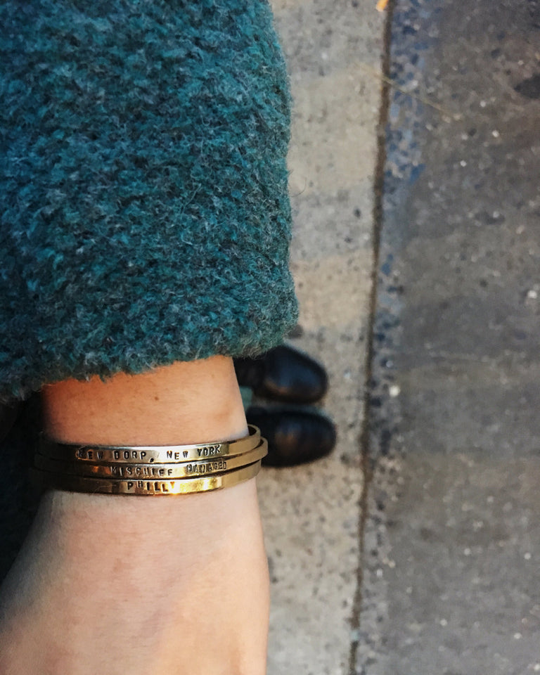 Make Today Count Cuff Bracelet