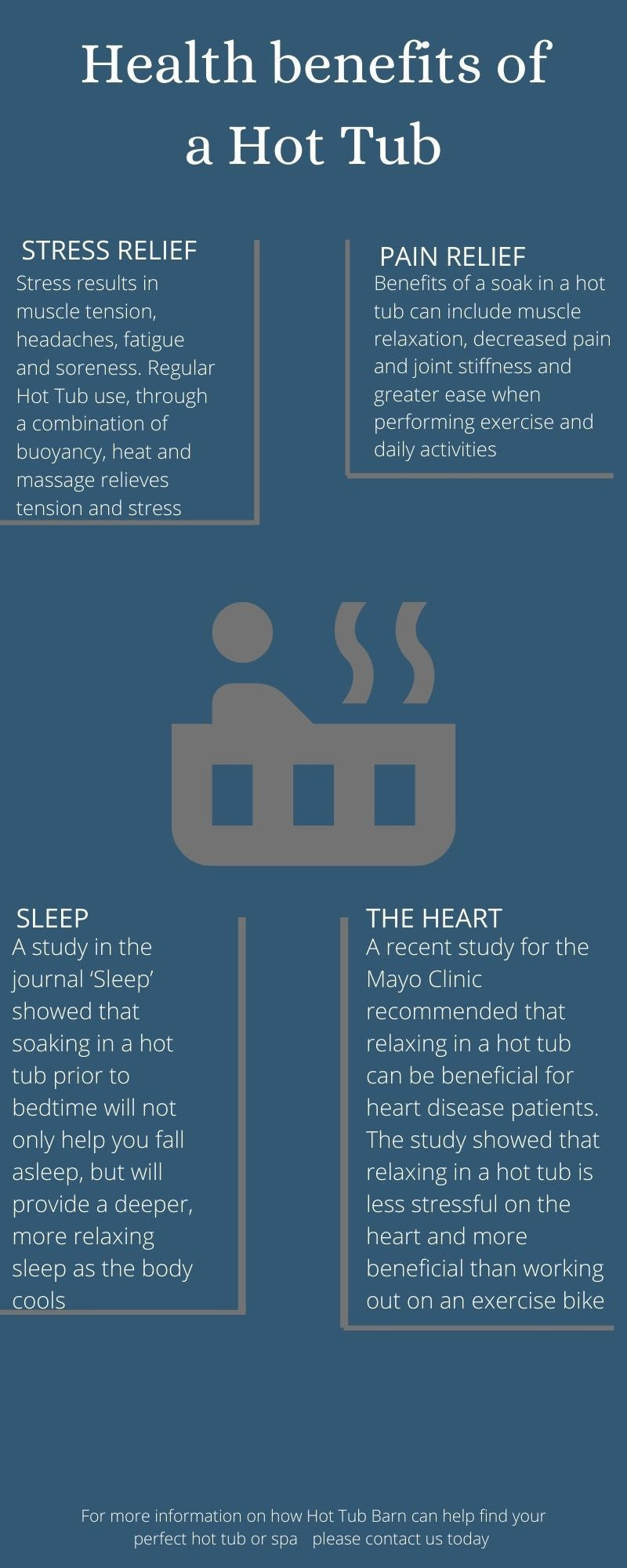 the 4 main benefits of owning a hot tub
