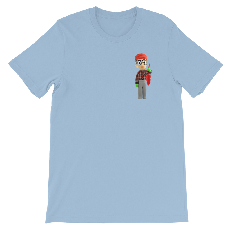 Mini Sanjeev Cube and Gummi Pet Rat | Unisex T-Shirt