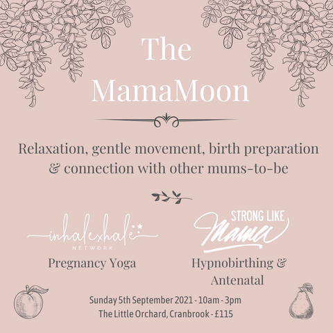 The MamaMoon pregnancy retreat - day of pregnancy yoga and hypnobirthing