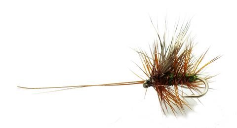 Sedge CL Copper Wire Olive Body Sedge Fly