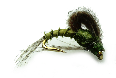 CDC Looped Wing Emerger Blue Winged Olive,Discount Trout Flies, Cheap Trout Flies,Trout Flies
