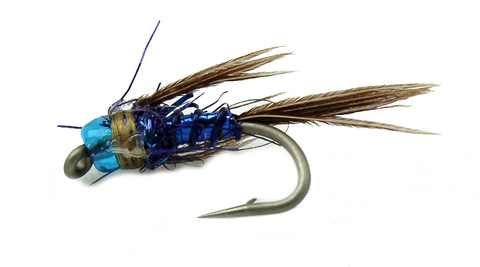 Bead Head Lightning Bug Blue