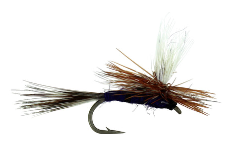 Adams Parachute, Purple Parachute Fly, Discount Trout flies