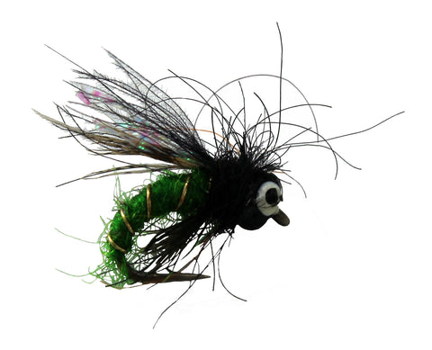 Morrish Bead Head Supa Pupa Bright Green Dryflyonline.com