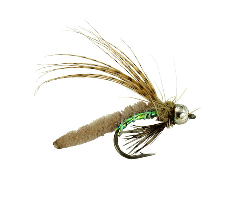 Bead Head Caddis Poopah Tan,Discount Trout Flies,Dryflyonline.com