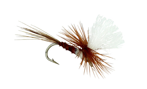 Biot Parachute Dry Fly,Discount Trout Fly,Brown Dry Fly, Parachute Fly, Dryflyonline.com
