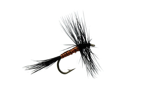 Black Variant Dry Fly