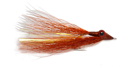 Brown and Copper Clouser Saltwater Fly,Discount Saltwater Flies, Saltwater Fly Fishing