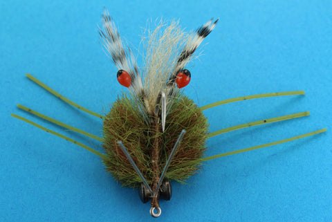 Defiant Crab Brown,Discount Saltwater Flies,Saltwater Crab Fly