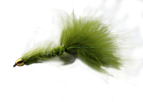 Woolly Bugger Olive Conehead