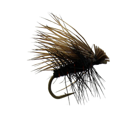 Elk Hair Caddis Black, Dry Fly, Dryflyonline.com, Wholesale Flies, Discount Flies