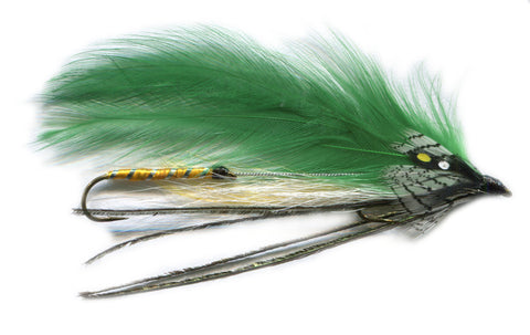 Green Ghost Tandem Streamer,Discount Trout Flies,Dryflyonline.com