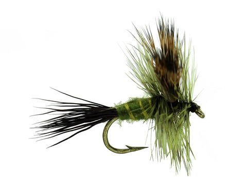 Green Drake Wulff Dry Fly, Discount flies, Trout Flies, Dryflyonline.com