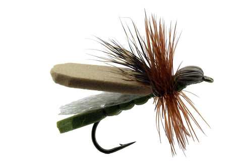 Green Leaf Hopper, Dryflyonline.com, Discount Flies, Wholesale Flies