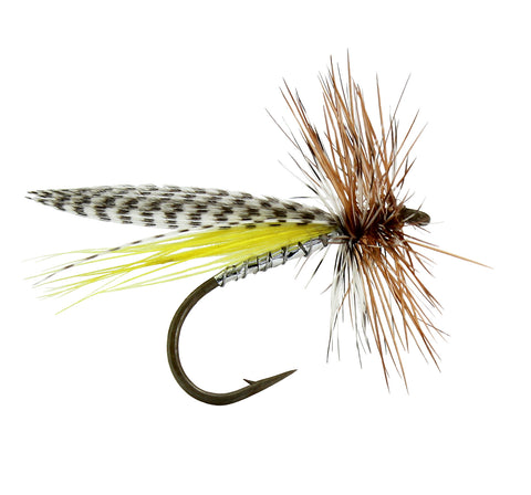 Hornberg Dry Fly, Fly Fishing Flies, Trout Flies, Discount Trout Flies
