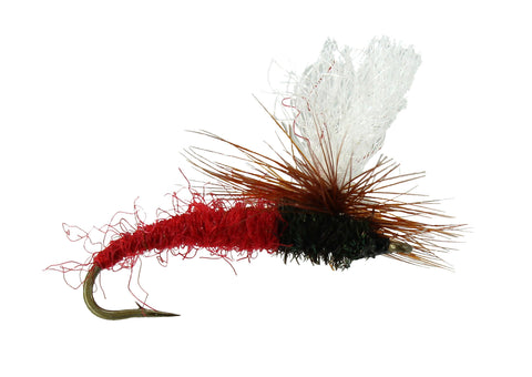Klinkhammer Red Emerger Parachute Fly, Discount Wholesale Flies,Trout Flies
