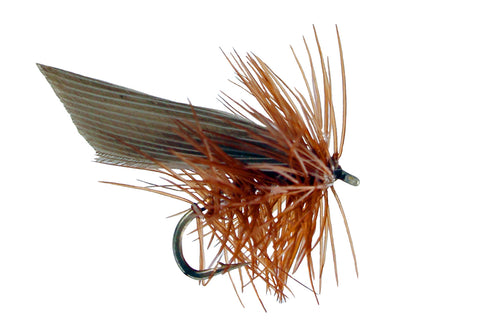 Brown Sedge Fly, Discount Trout Flies, Brown Dry Sedge Fly, Dryflyonline.com