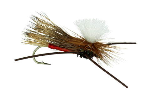 Madam X PMX Red Parachute Fly,Discount, Wholesale Trout Flies, Dryflyonline.com