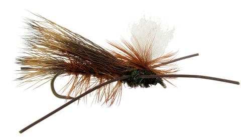 Madam X Peacock Parachute Fly, Discount Trout Flies, Wholesale Trout Flies
