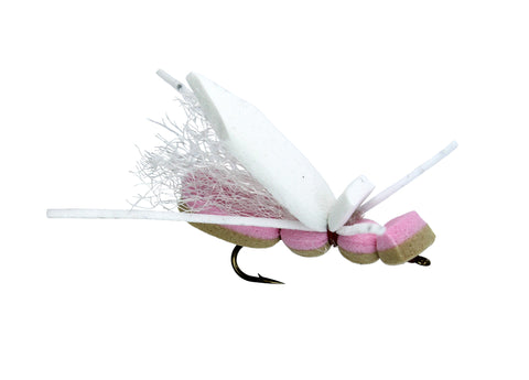 Montana Hopper Tan and Pink, Cheap Trout Flies, Discount Trout Flies, Dryflyonline.com