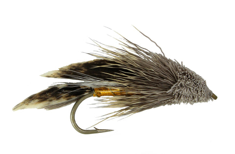 Muddler Minnow Streamer,Classic Streamer,Wholesale Trout Flies, Discount flies