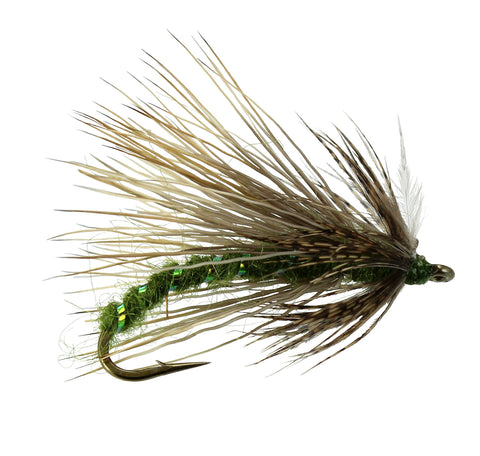 October Caddis Olive, Discount Trout Flies, Dryflyonline.com quality Trout Flies