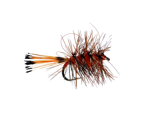 Orange Palmer Dry Fly, Discount Trout Flies, Stimulator Dry Fly, Cheap Trout Flies