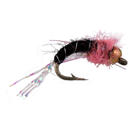 Bead Head Pink Squirrel Nymph,Diuscnt Trout Flies, Cheap Trout Flies,Less Expensive Trout Flies