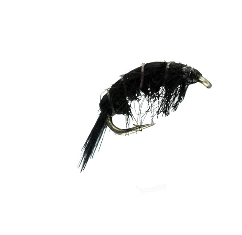 Plain Old Scud Black, Dryflyonline.com, Discount Trout Flies, Cheap Trout Flies for Fly Fishing