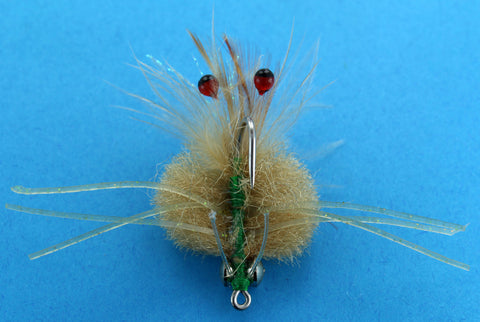 Raghead Crab Tan,Discount Saltwater Flies,Dryflyonline Florida Saltwater Crab Patterns