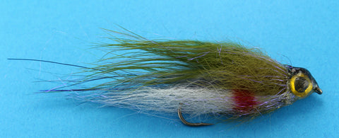Rainbow Trout Fry PAttern, Baitfish Pattern, Smaaki Flies, Discount Trout Flies